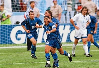 Maradona di Piala Dunia 1994