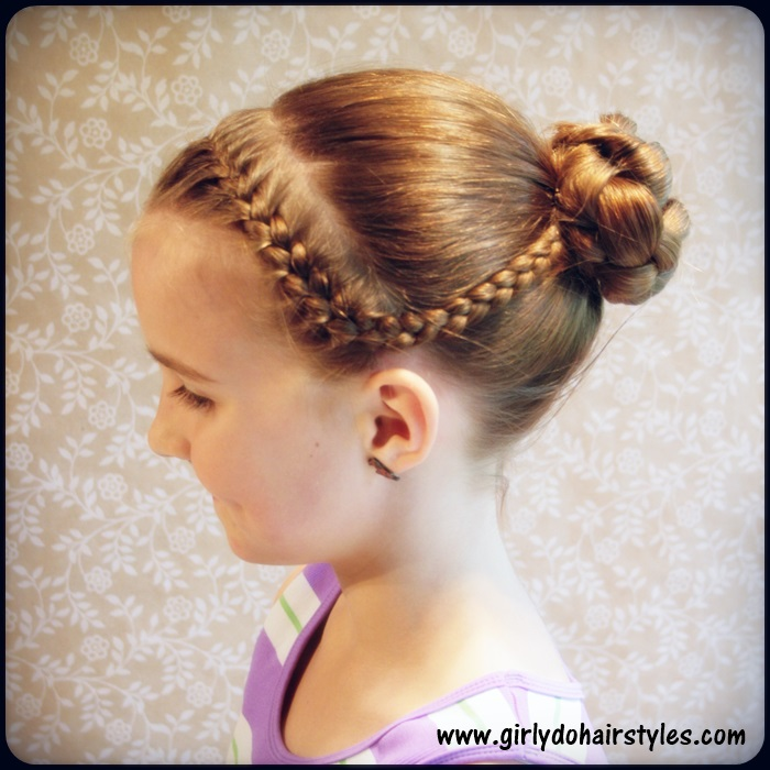 Girly do hairstyles by jenn katie s dance braids and bun style