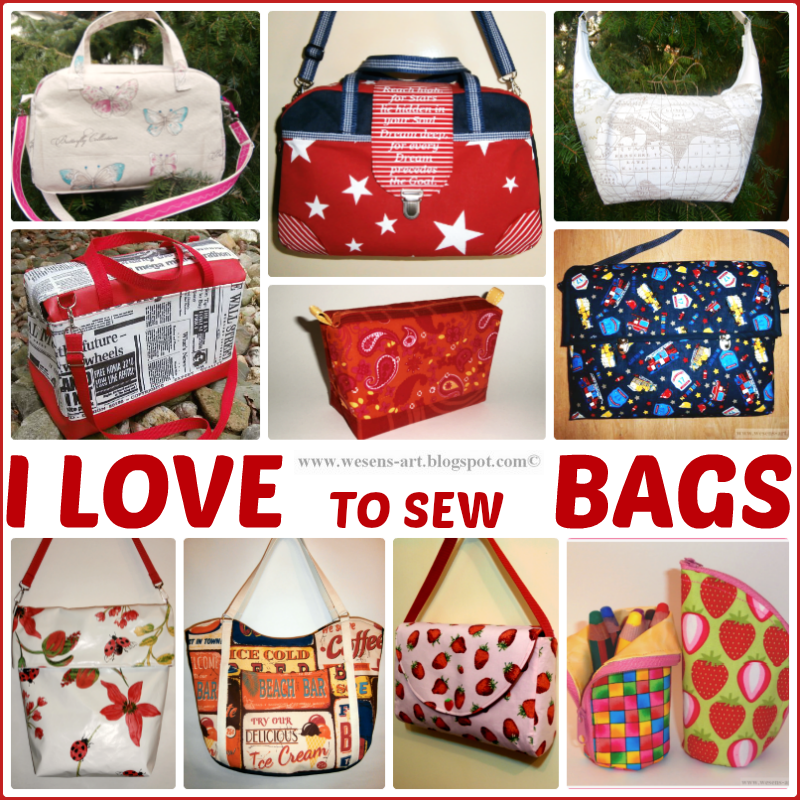 LoveToSewBags    wesens-art.blogspot.com