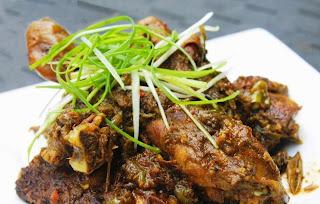 Ayam Napidadar khas Batak