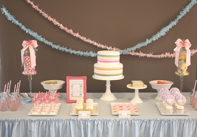 Baby christening party ideas car interior design for Baby dedication decoration