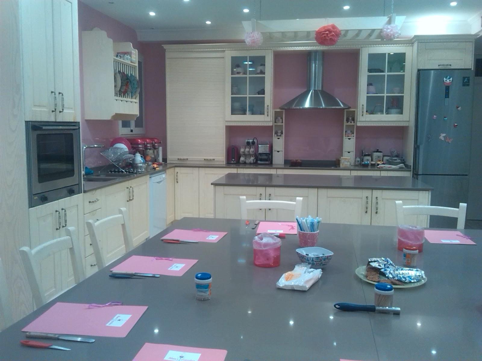 Cocinando con minis curso de cupcakes con flores con alma - Cocina con alma ...