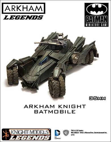 Batmobile Batman Arkham Knight Knight Models Legends