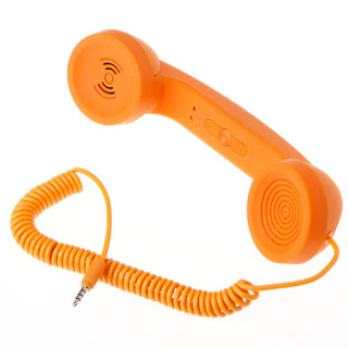 For iPhone 4/4S Volume Adjustable 3.5mm Retro POP Phone Handset