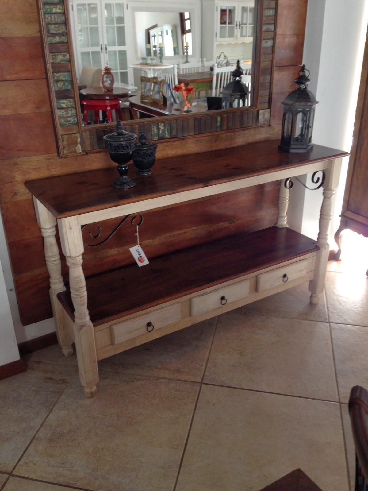 Casa Mix: Aparador de madeira envelhecido com detalhe em ferro #664438 1200x1600