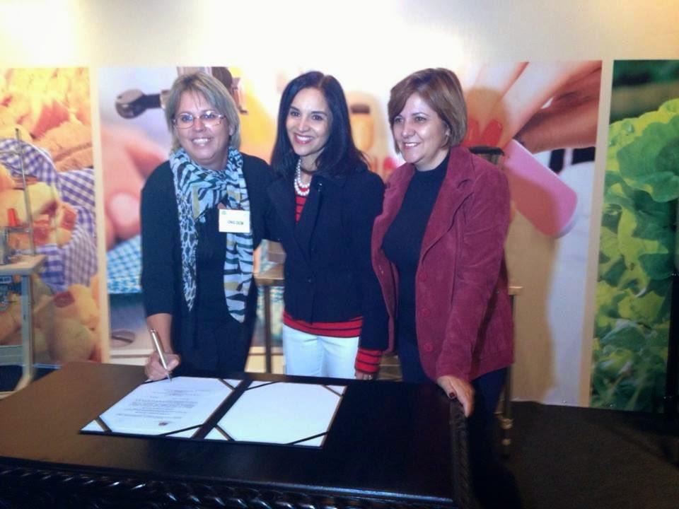 Ong DCM assina convênio com Lu Alckimin para capacitar mulheres do município