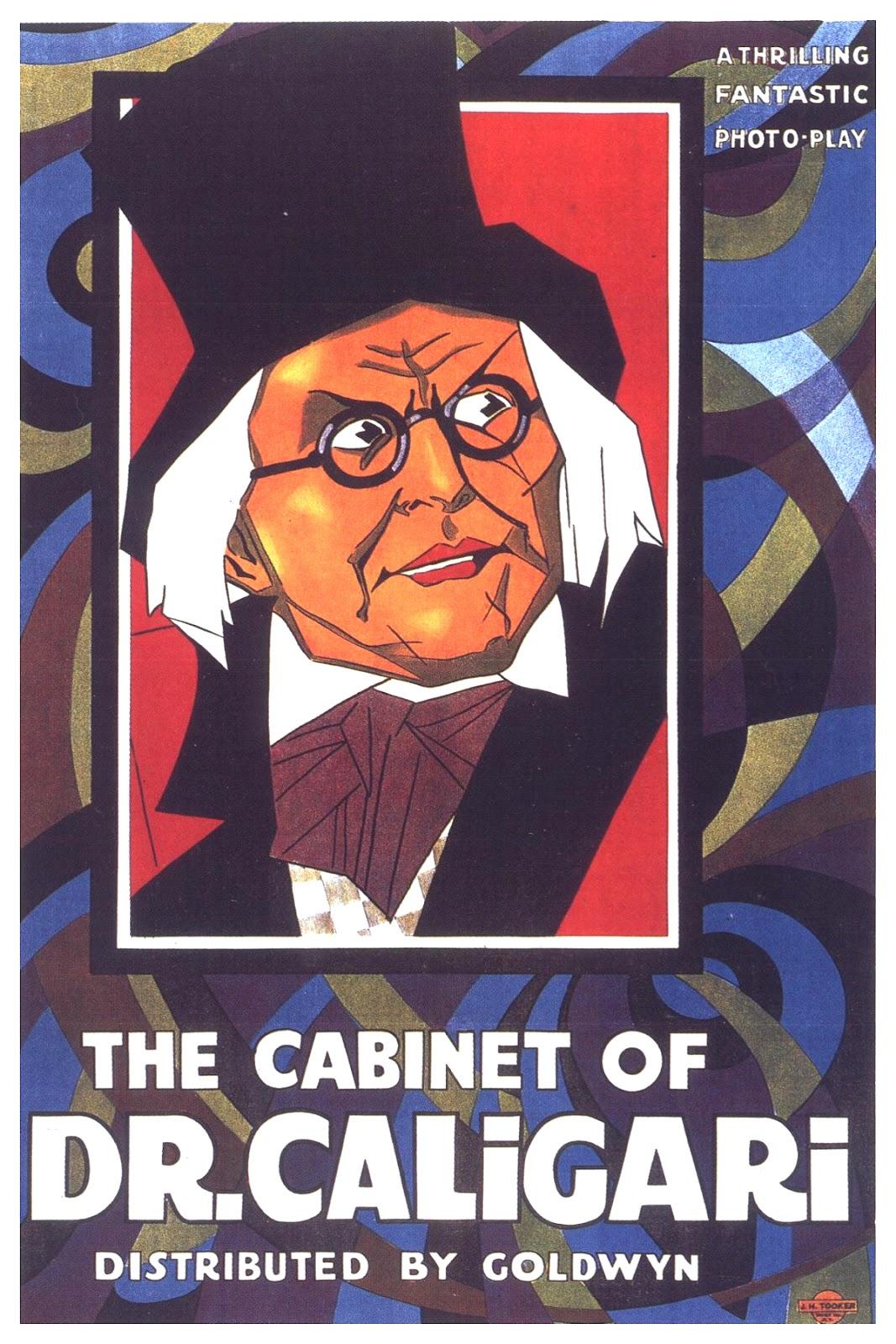 MOVIE POSTERS: DAS CABINET DES DR. CALIGARI (1920)