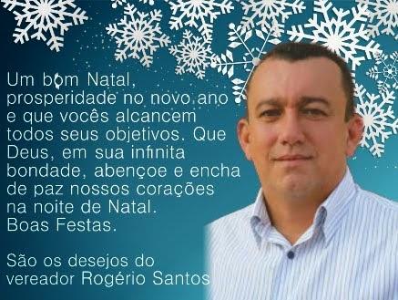 Vereador Rogério Santos
