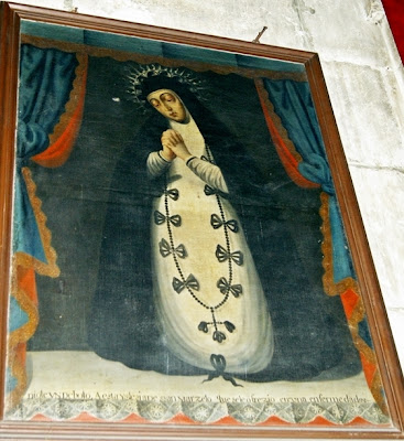 Lienzo de la Soledad. Iglesia parroquial de San Marcelo. León. Foto G. Márquez
