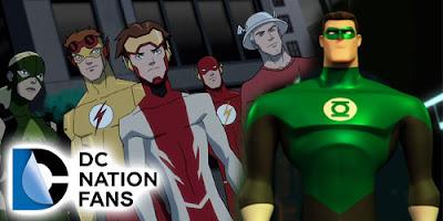 Lanterna Verde e Justiça Jovem - DC Nation