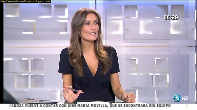 Leticia Iglesias escote