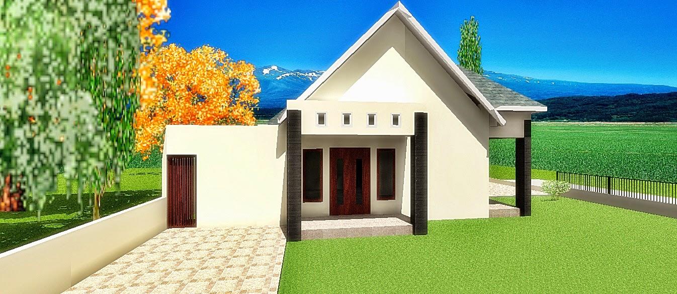 Desain Rumah Tumbuh tahap pertama