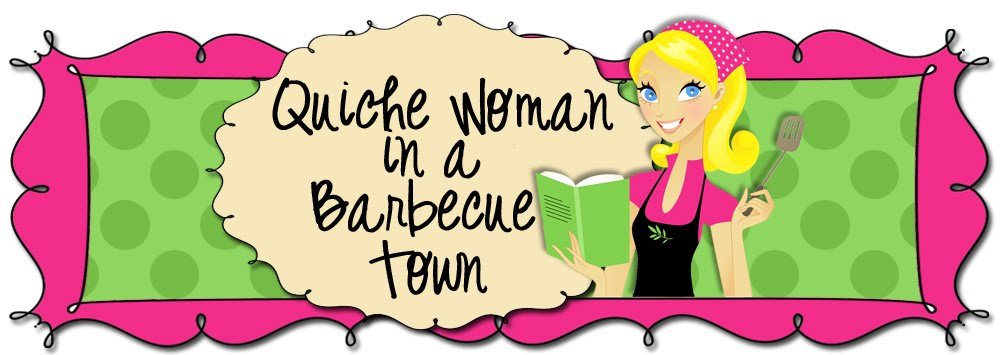 Quiche Woman in a Barbecue town