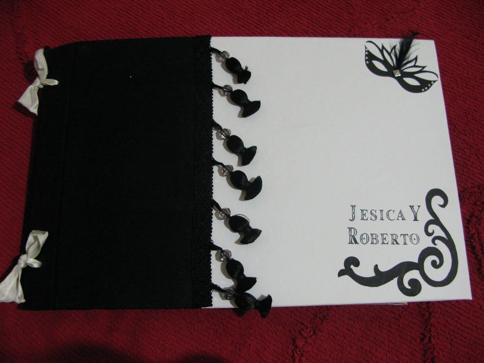 albunes y scrapbook album de bodas