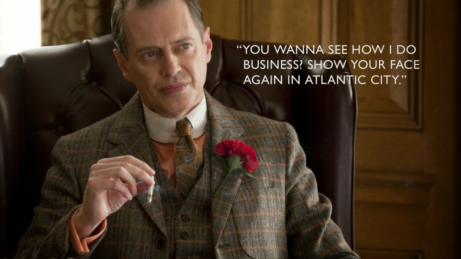 Boardwalk Empire Nucky Thompson es Steve Buscemi HBO