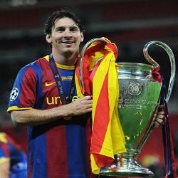 DP Messi dan Trofi Liga Champions
