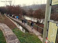 """Inici del tram del recorregut que segueix el canal de la Sèquia. Autor: Francesc """"Caminaire"""""""
