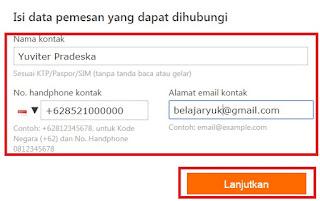 gambar cara beli tiket pesawat online