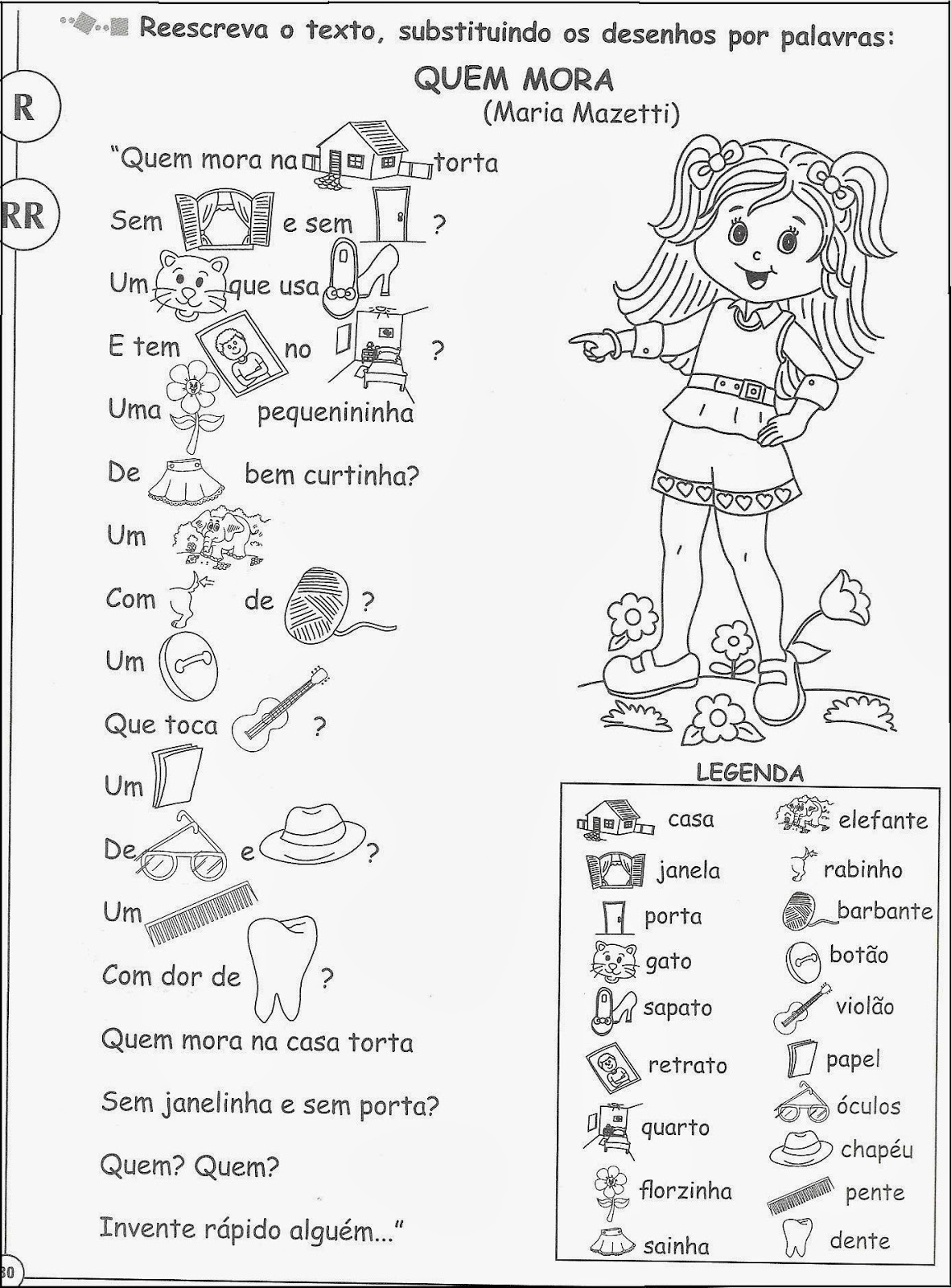 atividades de ortografia com r e rr prontas para