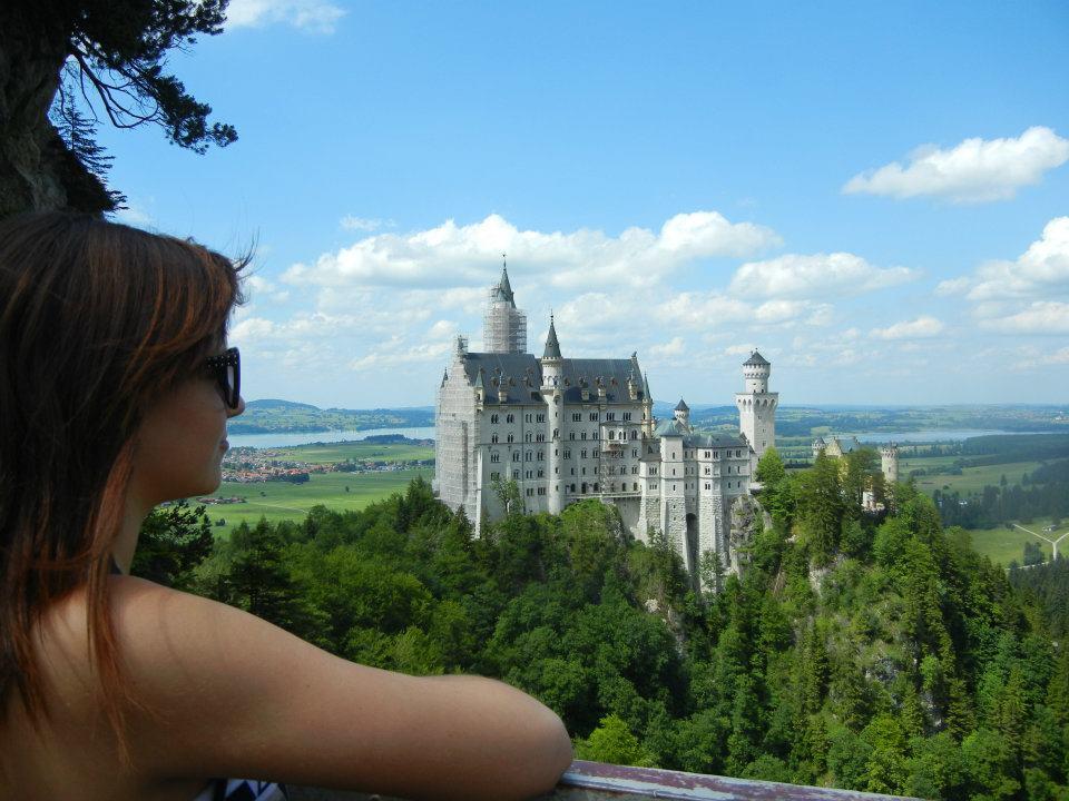 Krista Summer In Berlin Neuschwanstein Castle The Most Beautiful Place In Germany