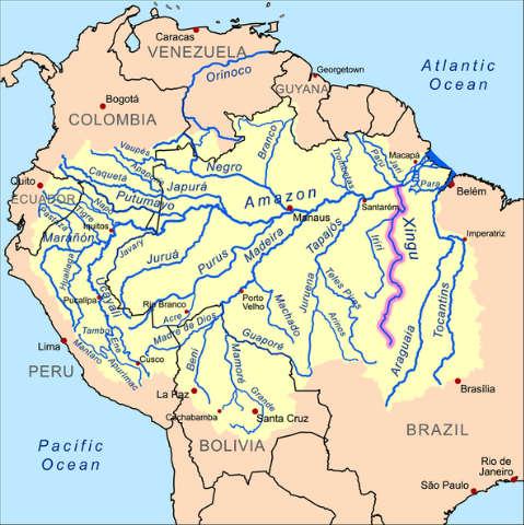 Rios del Amazonia