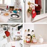 """Sesja świąteczna w mieszkaniu, dla magazynu """"Cztery Kąty"""""""