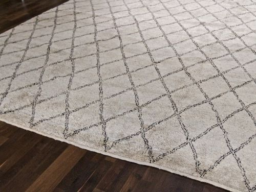 CLAYTON GRAY BENI OURAIN RUG DIAMOND PATTERN 8X10