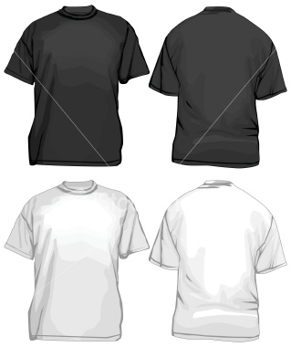shirt front and back white t shirt front and back