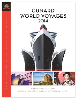 Cunard Line 2014 World Cruises on Queen Mary 2, Queen Elizabeth and Queen Victoria
