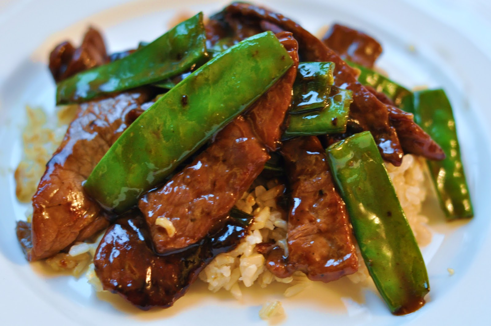 This Mommy Cooks: Beef with Snow Peas