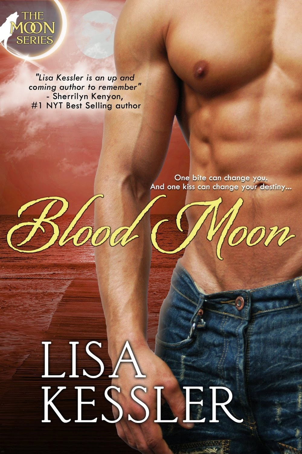 Blood Moon (Entangled Select Otherworld) (Moon Series Book 3) by Lisa Kessler (PNR)