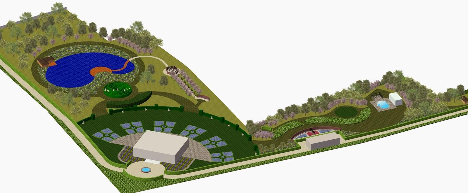 A life designing garden design plans the master plan for Garden design visualiser