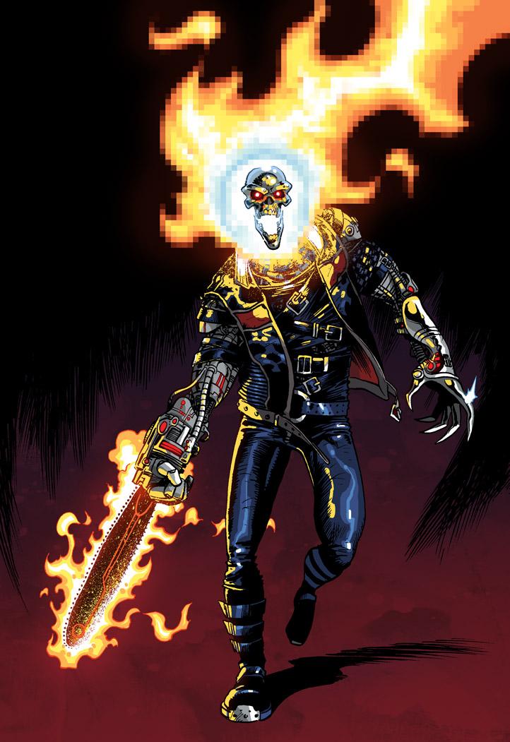 ilias kyriazis ghost rider 2099