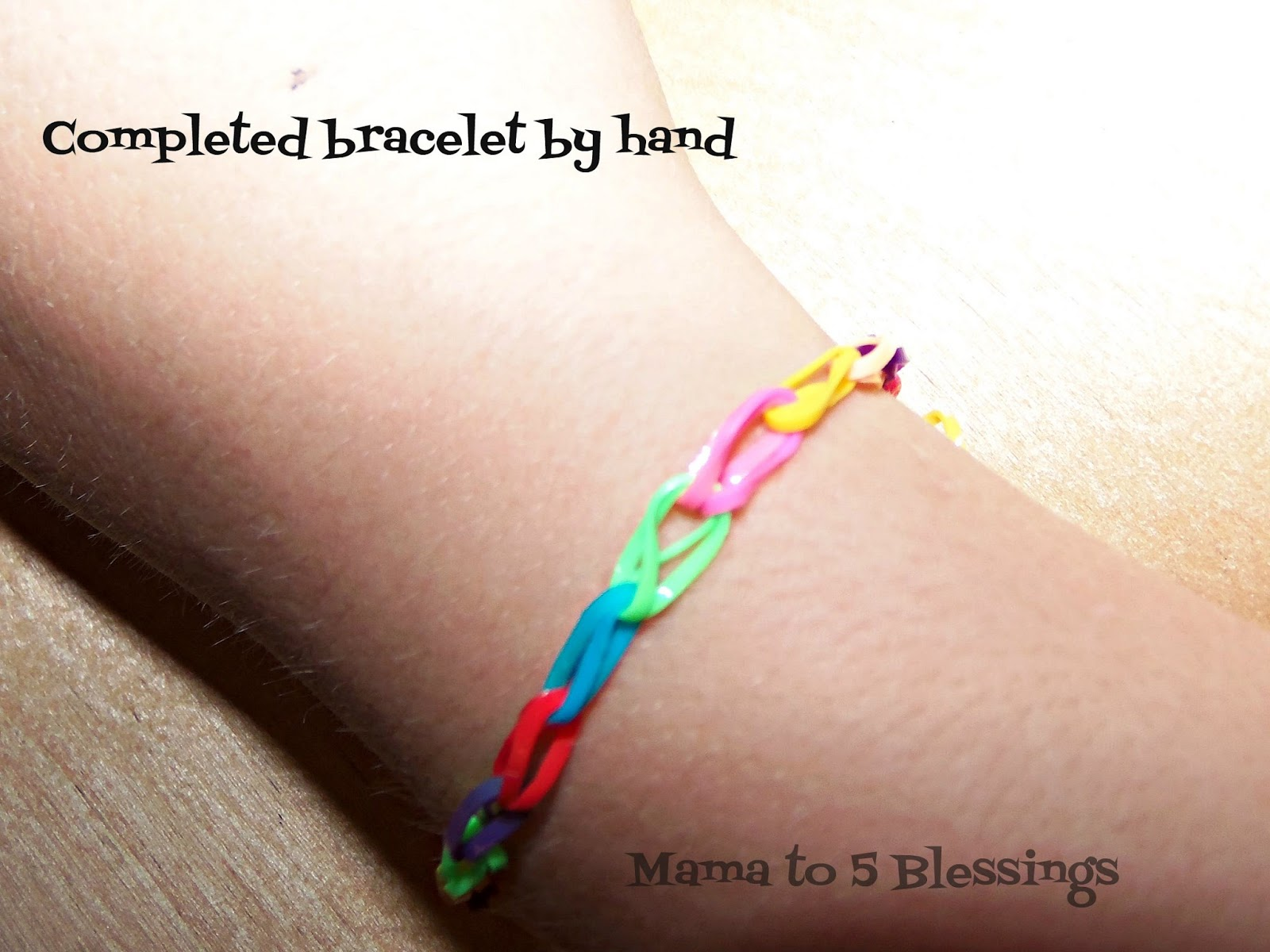 how to make a bracelet out of loom