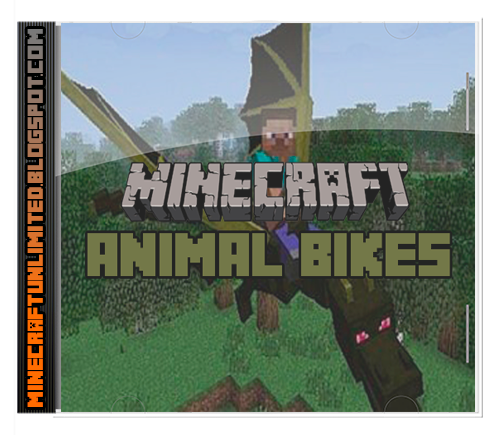 Animal Bikes Mod Minecraft carátula