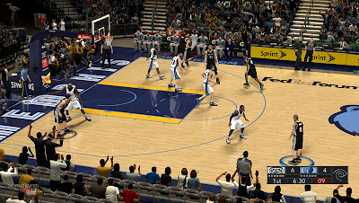 NBA 2K13 Memphis Grizzlies Court Update