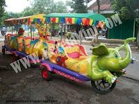 Kereta Mini Sepeda Motor Gajah
