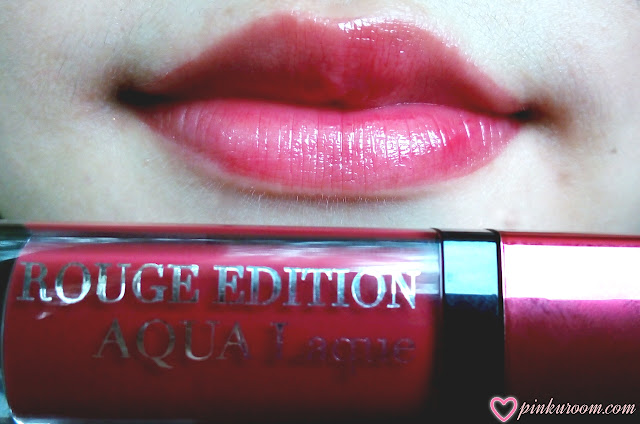 Bourjois Rouge Edition Aqua Laque Review Pinkuroom