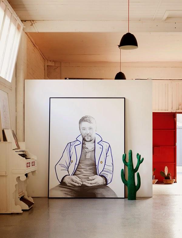 la petite fabrique de r ves melbourne un loft arty lumineux et chaleureux. Black Bedroom Furniture Sets. Home Design Ideas