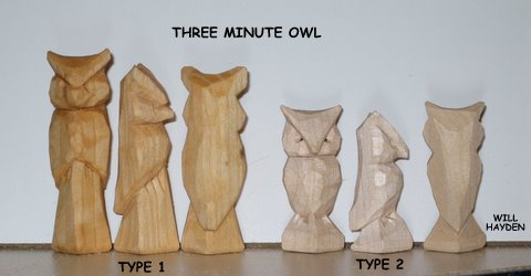 Owl wood carving etsy