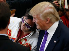 ELVIS MEETS TRUMP AND CLINTON IN VEGAS