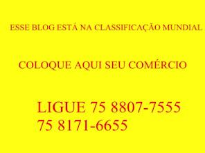 ESPAÇO PUBLICITÁRIO PARA SUA EMPRESA
