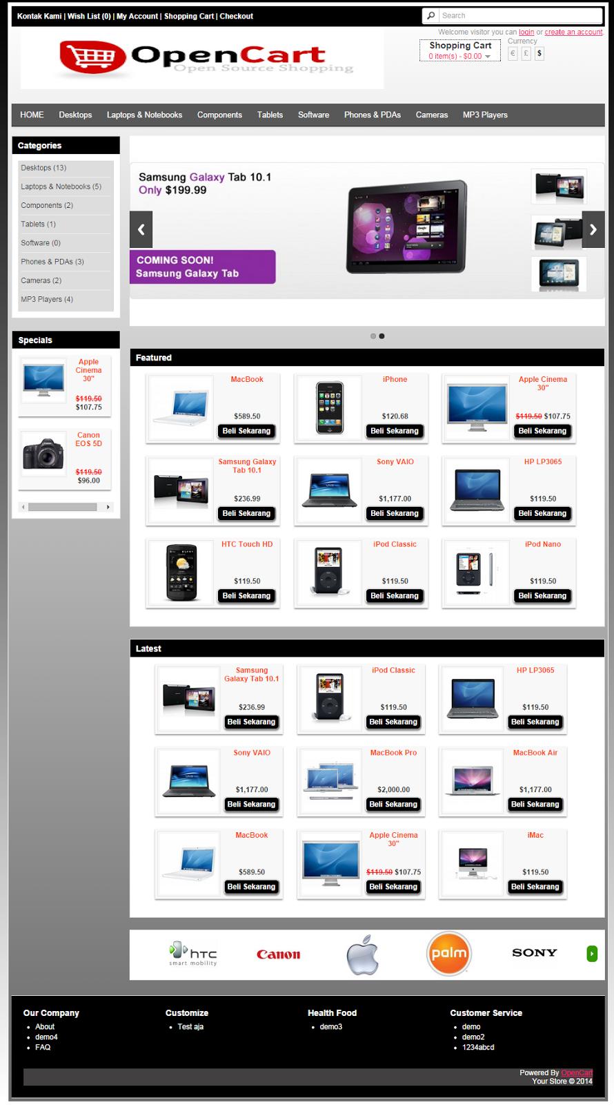 Homepage  Blekorwet Template