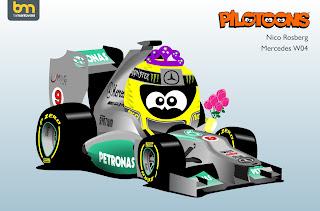 Rosberg Mercedes