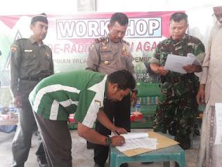 GP Ansor Pamekasan Gelar Workshop Deradikalisasi Agama
