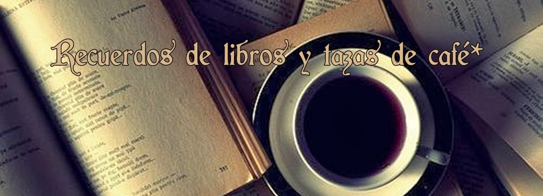 Recuerdos de libros y tazas de café