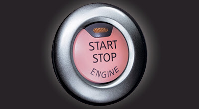 Nissan All New March - Push Start Button