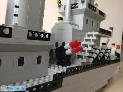Brick Toy Navy Ship 2