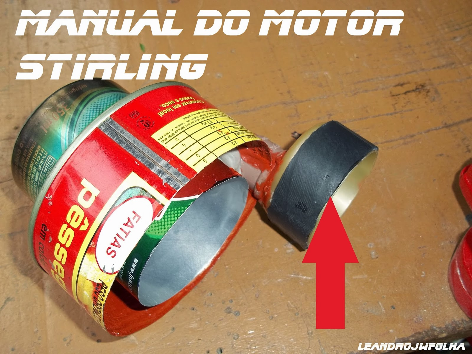Cilindro del pistón potencia (gama del motor), Manual do motor Stirling