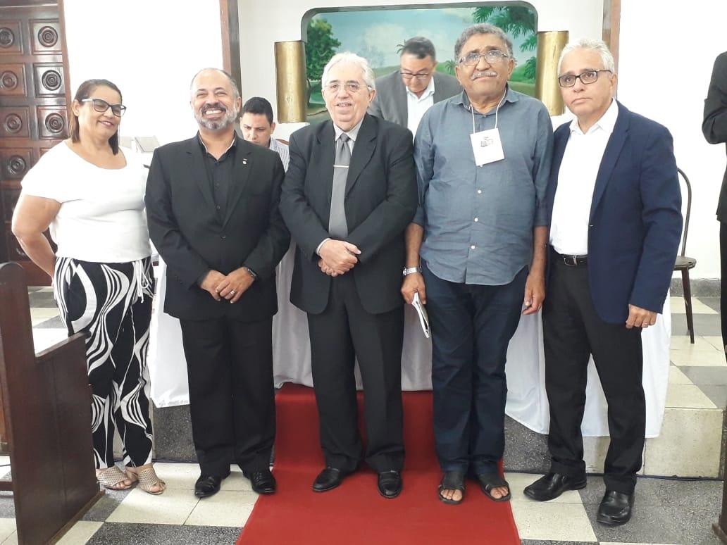 Posse como Presidente da Convenção Batista Paraibana